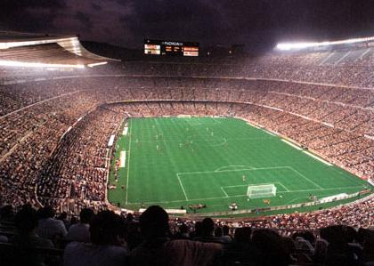 Camp Nou Rénovations en 1998